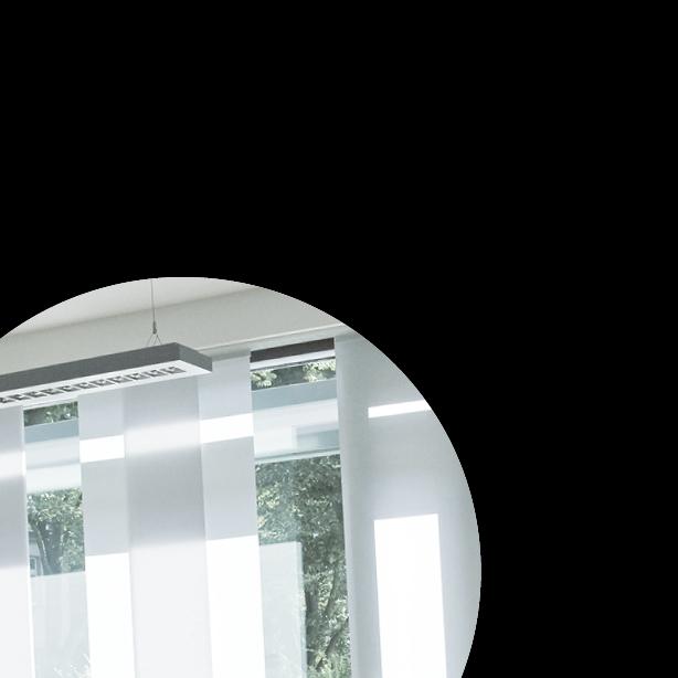 Blendschutz Flächenpanelvorhänge